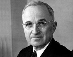 Harry S. Truman- 33rd US PRESIDENT 1945- 1953