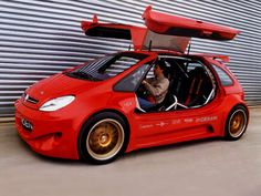 Sbarro Citroën Xsara Picasso Cup, A WRC version of the Picasso MPV with gull-wing doors using the engine from a Peugot 306 that develops 250 HP Supercars, Citroen Concept, Psa Peugeot Citroen, Citroen Ds, Automobile Companies, Hatchback Cars, Ferrari, Nissan Trucks, Smart Car