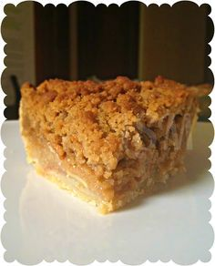 #2: One of mom's fave desserts would have to be an apple crumble pie. It's one dessert you can never go wrong with and mom's pies were always the best!