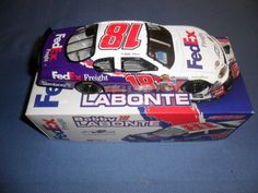 2005 NASCAR Action Racing Collectibles . . . Bobby Labonte #18 FedEx Freight Chevy Monte Carlo 1/24 Diecast . . . Limited Edition 1 of 180 . . . GM Dealers by NASCAR. $34.95. ACTION RACING COLLECTIBLES