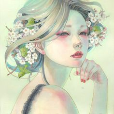 Oil Painting by Miho Hirano