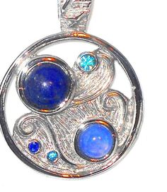 """Lapis+Lazuli+Pendant+6.00+carats++with+20""""+chain+#Unbranded+#Pendant http://stores.ebay.com/JEWELRY-AND-GIFTS-BY-ALICE-AND-ANN"""