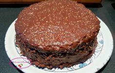 La cuisine & Claudine: Gâteau chocolat vanille, comme un rocher praliné
