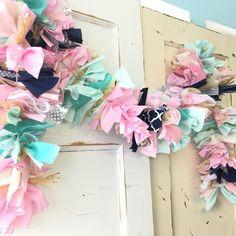 Custom boho chic garland to match any party themes