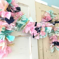 Custom boho chic garland to match any party themes