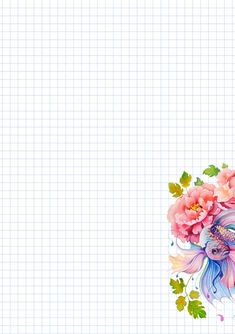 Стена Diy Paper, Paper Crafts, Graph Paper, Stationery Paper, Planner Organization, Writing Paper, Note Paper, Printable Paper, Flower Frame