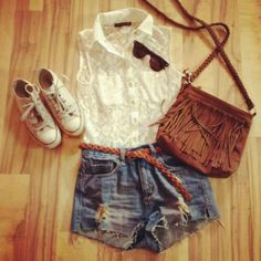 Summer outfit:) #PrimerasVecesByCyzone