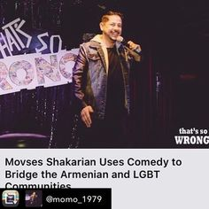 Repost from @momo_1979 - Thanks @laweekly and @mikeciriaco2099 for this awesome article about being a #GayArmenian #Comic Come to @flapperscomedy May 14th for @armenianallstars and @precinctdtla for @thatssowrongla May 24th! Link to the entire article in my bio! #laweekly #precinctdtla #armenian #armenianallstars ###armeniancomedy #armo #instagay #gaydtla #standupcomedy @comedycentral give me a special! #funnyshit #dragqueen #drag #instagood #article #pr #funny #armenians