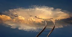 """Do we ever reach the top of our ladder and say """"well done"""" or do we keep climbing, changing ladders to achieve even more success? may involve climbing a series of ladders to get where you truly need to be. Cloud Computing, Ems, Top Cryptocurrency, Domino Effect, Psychic Development, Career Planning, Best Careers, Far Away, Marketing Digital"""