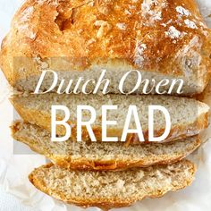 The Best No Knead Dutch Oven Bread – Eat Drink Savor Repeat Olive Loaf, Grilled Cheese With Tomato, Dutch Oven Bread, Pumpkin Bread, Dry Yeast, Dish Towels, Fresh Herbs, Bread Baking, Food Dishes