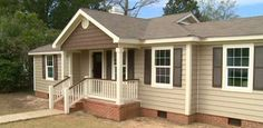 what color to paint house with brown roof,ranch style pictures - Google Search