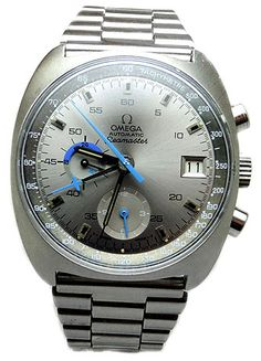 Omega Seamaster Date And Automatic And Chronograph Stainless Steel Circa 1973 wrist watch