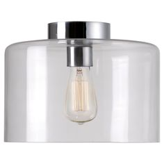 Kenroy Home Capri 1 Light Flush Mount Ceiling Light,