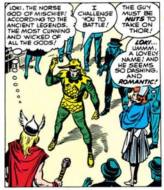 Journey into Mystery #85 (1952) First appearance of Loki and the first Loki fangirl...