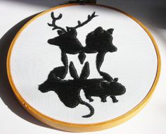 Harry Potter  Marauders embroidery