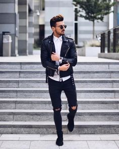 men's street style outfits for cool guys Classy Street Style, Street Style Outfits, Sport Outfits, Cool Outfits, Fashion Outfits, Amazing Outfits, Fashion Shirts, Fashion Pics, Street Fashion