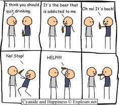 Of course, blame the beer! Why didn't I think of that?!