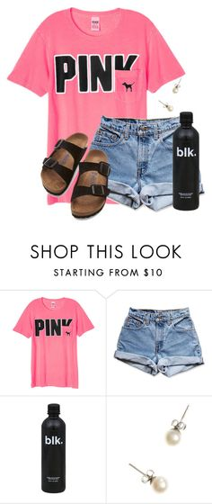"""I have chemistry next...."" by flroasburn on Polyvore featuring Victoria's Secret, Levi's, J.Crew and Birkenstock"