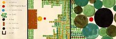 Els contes de Warja Lavater són únics. En aquesta entrada vull comentar un dels seus treballs que trobo magnífic, la sèrie anomenada « Imagineries » formada per quatre coneguts contes populars: la Caputxeta Vermella, La Blanca Neus, El Petit Polcet i La Ventafocs, les  pàgines dels quals formen una tira desplegable de més de quatre metres i on cada personatge o element important està representat per un símbol...