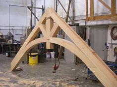 Specialty Beams is wood product supplier in northwest Montana specializing in structural timbers, beams, timber millwork, and timber frame home packages Porch Timber, Timber Roof, Roof Trusses, Sawn Timber, Timber Frame Garage, Timber Frame Homes, Timber Frames, Roof Truss Design, Wood Projects