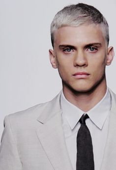 Blond.
