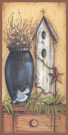 Search Looks Like Home Posters, Art Prints, and Canvas Wall Art. Barewalls provides art prints of over 33 Million images. Primitive Painting, Primitive Folk Art, Primitive Crafts, Tole Painting, Primitive Country, Primitive Pictures, Arte Country, Fine Art Prints, Framed Prints
