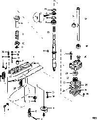 MERCURY/MARINER 6/8/9.8 2-STROKE (INTERNATIONAL) Gear