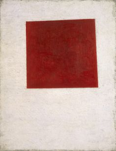 Kazimir Malevich, Painterly Realism of a Peasant Woman in Two Dimensions, called Red Square, 1915  Huile sur toile, 40,2 x 30,1 cm