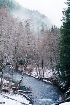 Hamma Hamma River Washington [OC] (1068x1600)