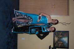 duct tape dress and suit