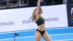 Women's Pole Vault - IAAF World Indoor Tour Karlsruhe 2019 Alysha Newman, Playboy, Pole Vault, Under Pressure, Vaulting, Olympics, Writer, Spa, Tours