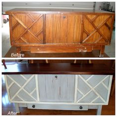 Hope chest transformation
