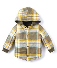 Size 6-9 months...Tea Collection Grape Leaf Plaid Reversible Jacket on #zulily today!