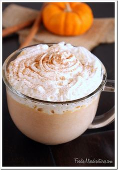 Pumpkin White Hot Chocolate | The Marvelous Misadventures of a Foodie