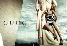 "Like a ""supermodel, bronzy, old school Gucci campaign"""