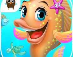 """Check out new work on my @Behance portfolio: """"Cute Fish Adventures"""" http://on.be.net/1OGTAh4"""