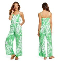 Lilly Pulitzer Romper Fresh and fun Romper by Lilly Pulitzer. So cute and fun. Brand New with Tags. Pet free and smoke free home. Lilly Pulitzer Jackets & Coats