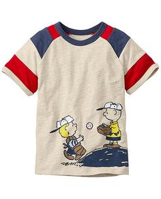 be293a9522 Peanuts Art Tee In Slub Jersey from Hanna Andersson