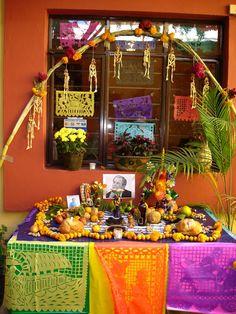 Altar de Muertos. Oaxaca Mexico