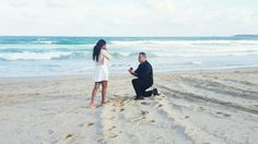 After a day full of romantic pampering and the cutest scavenger hunt, he proposed on the beach with all of her loved ones there to see. Something Borrowed, Something Old, Proposal Photos, Proposal Ideas, Perfect Proposal, Yes I Did, Wedding Pictures, Wedding Ideas, Marriage Proposals