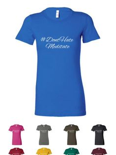 Bella Ladies Favorite Tee  Stylish and fitted women's T-shirt. A high quality shirt for your casual needs. We recommend ordering at least one size up as Bella products run smaller than other brands.  Materials 4.2 oz 100% combed ringspun cotton  More Info Crew neck basic with feminine styling. Contoured sideseams flatter the figure. Super soft baby jersey knit.