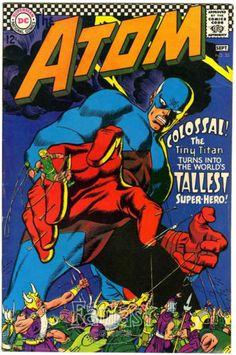 Atom 32 1967 VG 4 0 DC Comics | eBay