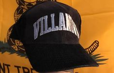 Vintage Navy Blue Corduroy Villanova University Wildcats Snapback Hat Size  one size - Hats for Sale - Grailed 8e834e17b58f