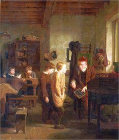 """Idle Boys"", 1815. William Mulready (1786–1863), Irish genre painter."