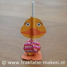 lollipop duck craft  |   Crafts and Worksheets for Preschool,Toddler and Kindergarten