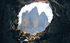 Le Tre Cime di Lavaredo viste dal Monte Paterno