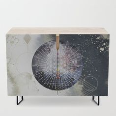 Namaste Credenza by beebeedeigner Types Of Furniture, Furniture Design, Interior Decorating, Interior Design, Contemporary Decor, Credenza, Namaste, Decor Ideas, Decoration