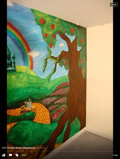 Wizard Of Oz Themed Mural By Caras Creations For A Childu0027s Nursery. Look At  The Part 42