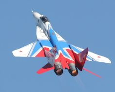 Strizhi (Swifts) Aerobatic Team - MiG-29 - Russia Air Force by richard-seaman.com