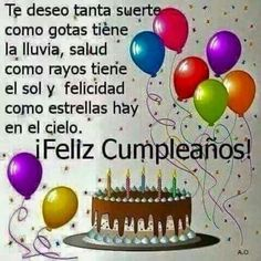 Trendy Happy Birthday Messages In Spanish Ideas Spanish Birthday Wishes, Happy Birthday Wishes Quotes, Birthday Blessings, Happy Birthday Pictures, Happy Birthday Greetings, Happy B Day, Birthday Board, Birthday Balloons, Continue Reading
